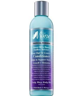 The Mane Choice Tropical Moringa Rinse Out or Leave in Conditioner 8oz *NEW*