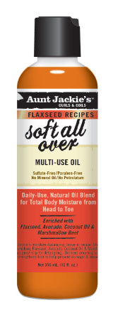 Aunt Jackie's Curls & Coils Soft All Over Multi-Purpose Oil 8 oz