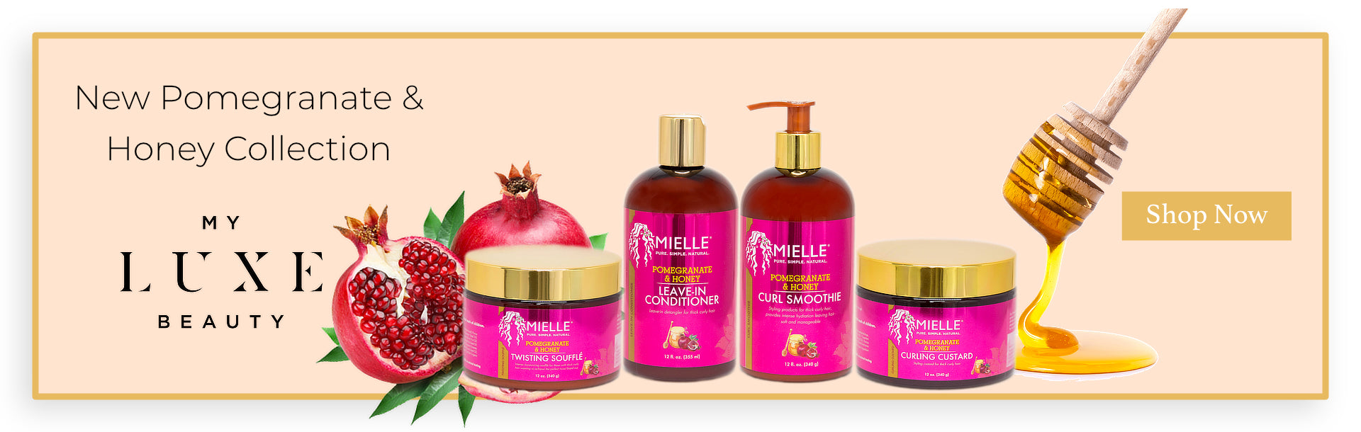 Mielle Organics Pomegranate & Honey