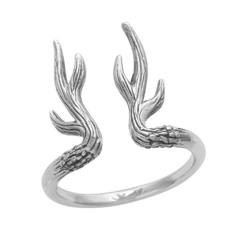 Antler 925 Ring - Boho Lake