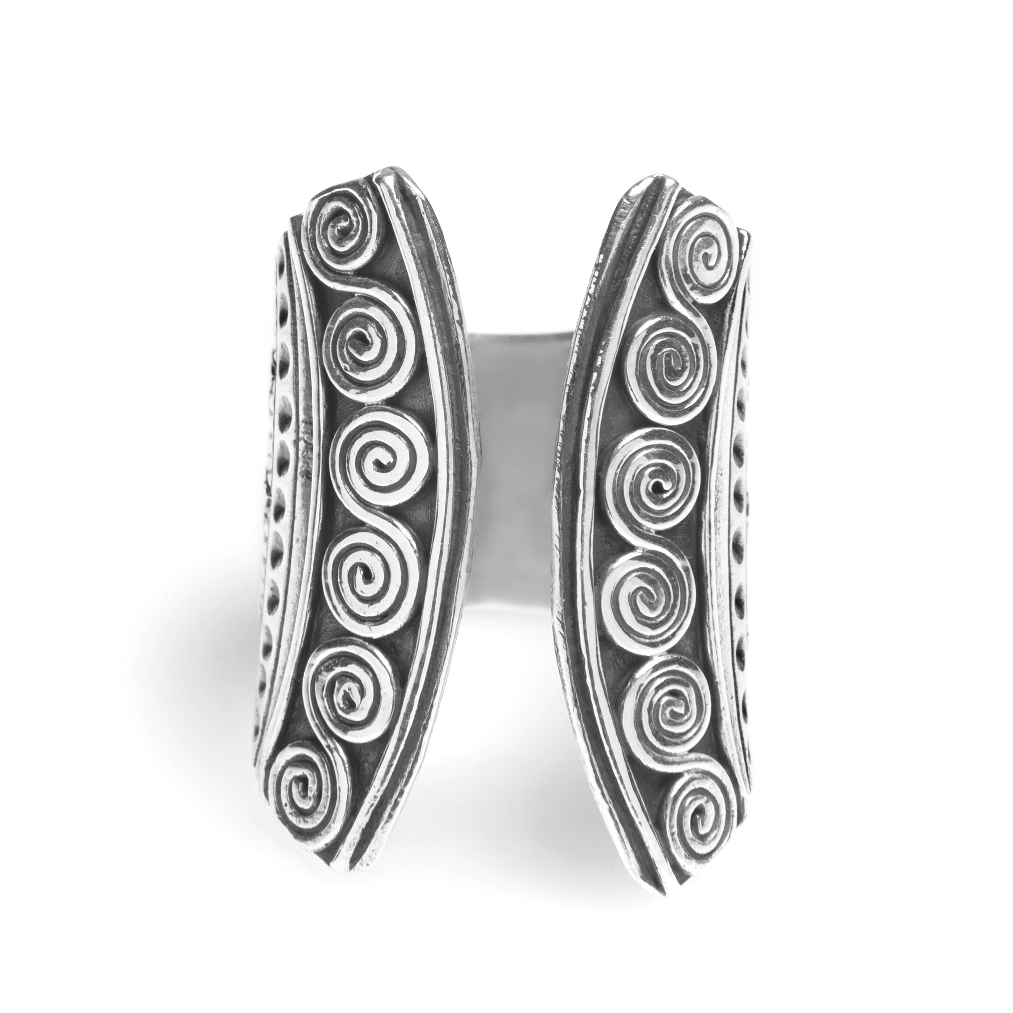 Aztec Cuff 925 Ring - Boho Lake