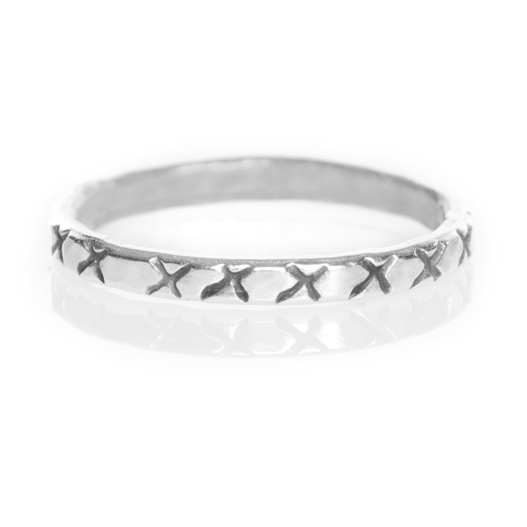 Cross 925 Midi Ring - Boho Lake