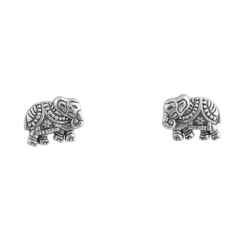 Baby Elephant 925 Earrings - Boho Lake
