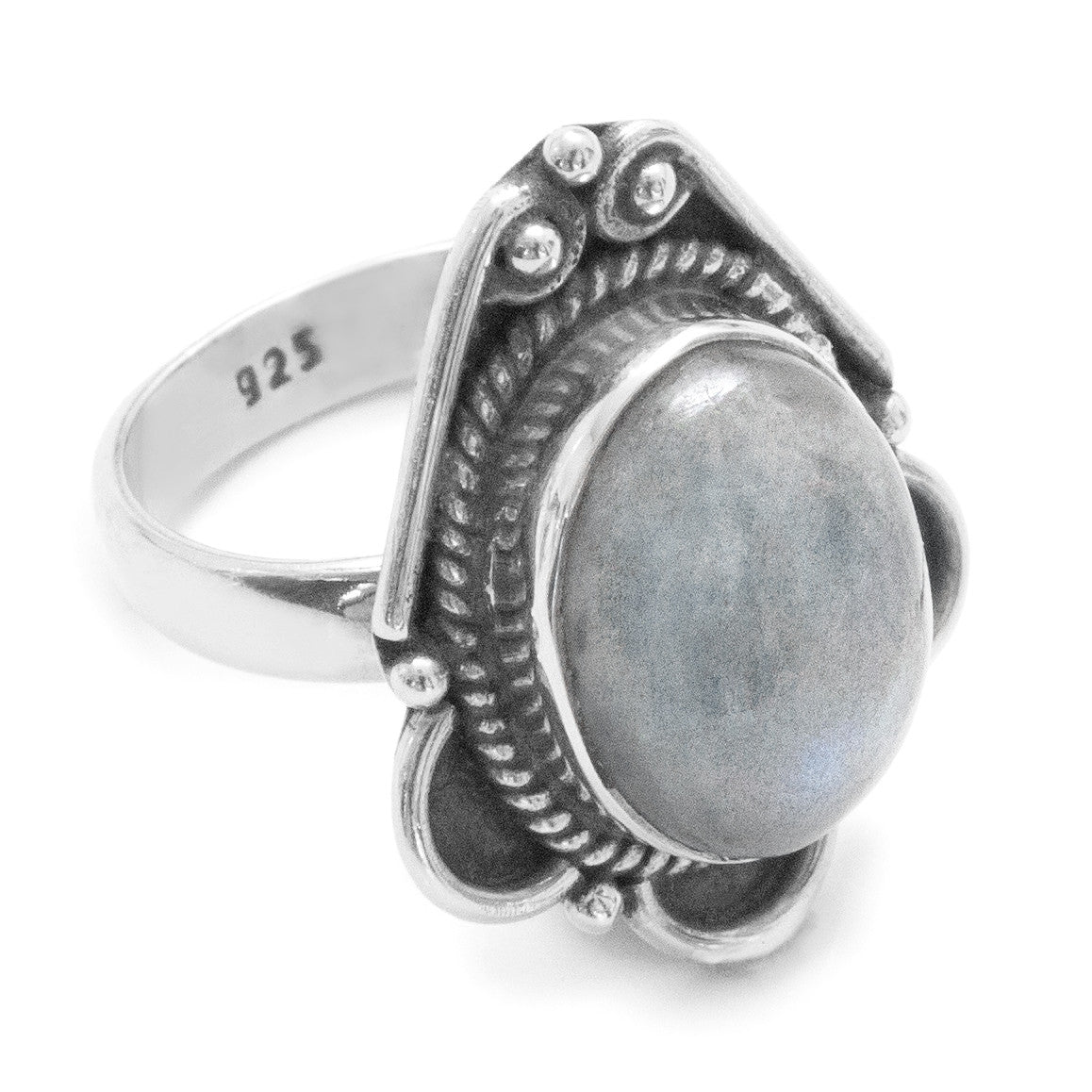 Eternity Labradorite 925 Ring