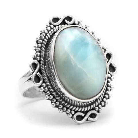 Larimar 925 Ring - Boho Lake