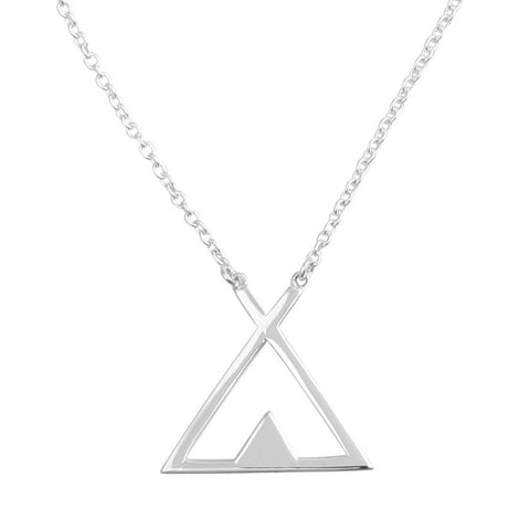 Tipi 925 Necklace - Boho Lake