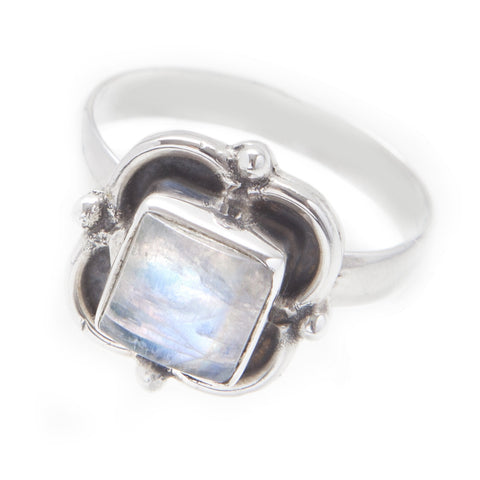 Vagary Rainbow Moonstone 925 Ring
