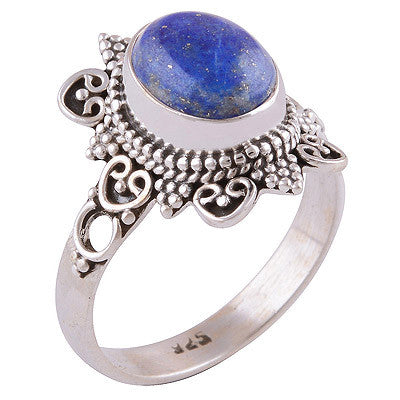 Orenda Lapis 925 Ring - Boho Lake