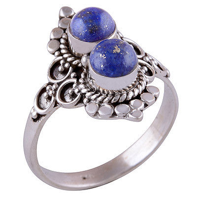 Double Ora Lapis 925 Ring - Boho Lake