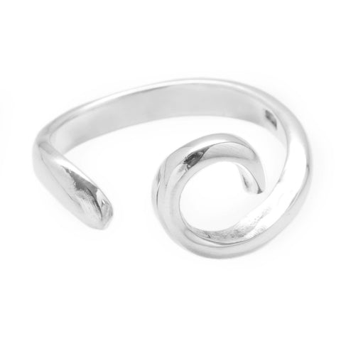 Rolling Waves 925 Midi Ring