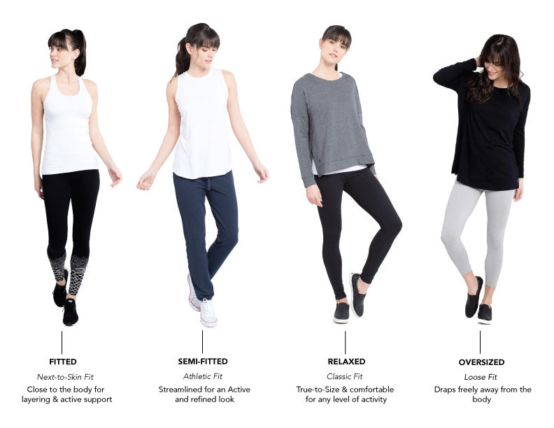 8bff50f2810 womens fit guide. Size Chart