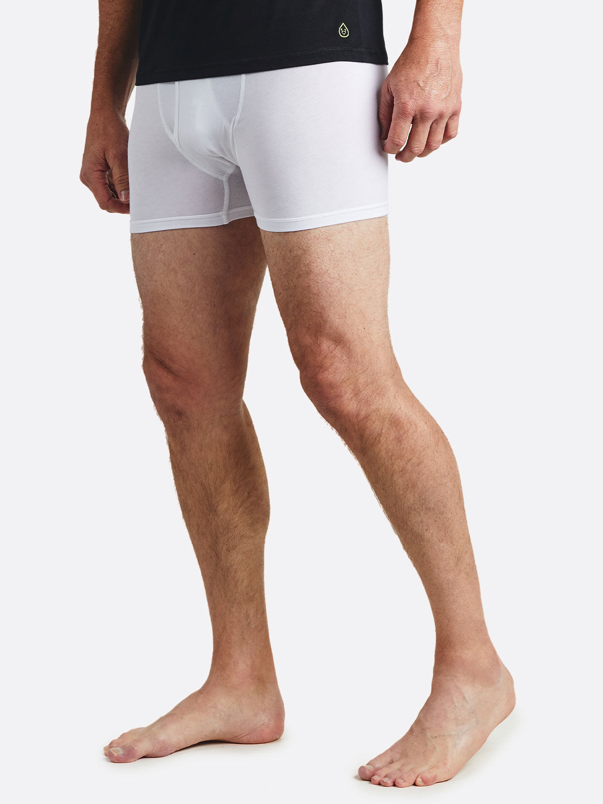Pimaluxe Boxer Brief - tasc Performance (White)