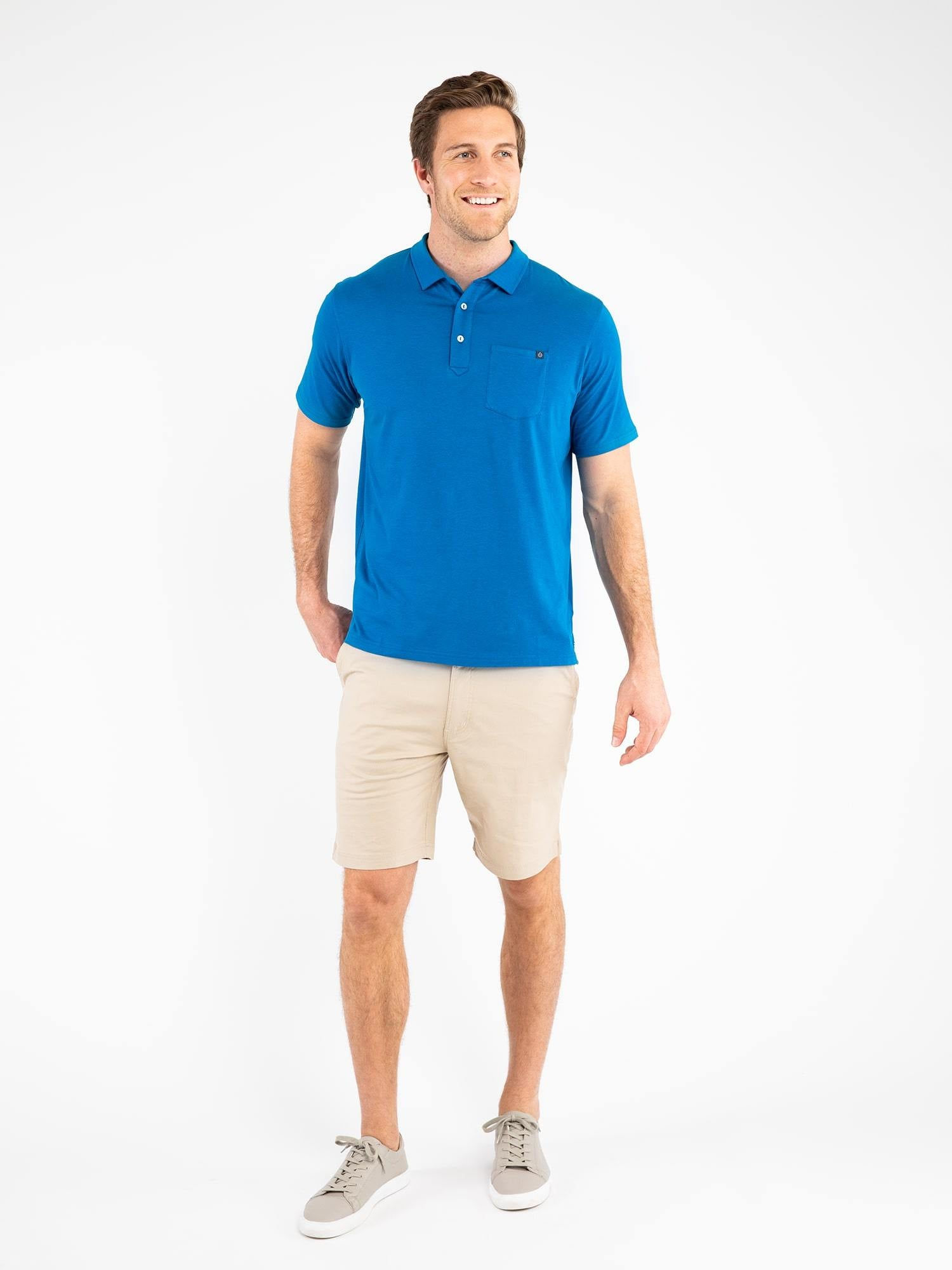 Easy Stretch Pocket Polo - tasc Performance (all)(hover)
