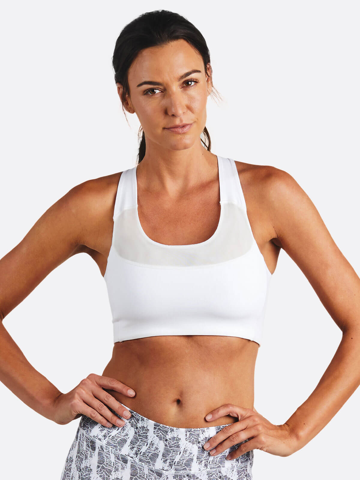 Move Free Sports Bra - tasc Performance (White)