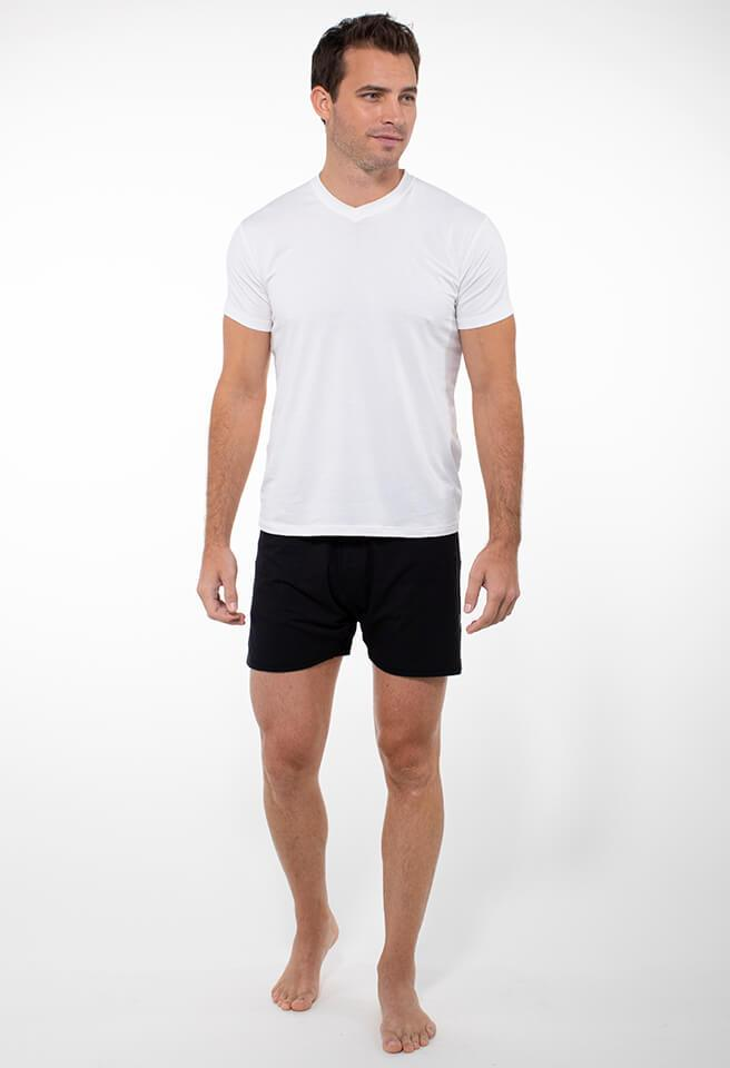Elevated Loose Fit Boxer - tasc Performance (Black)(hover)