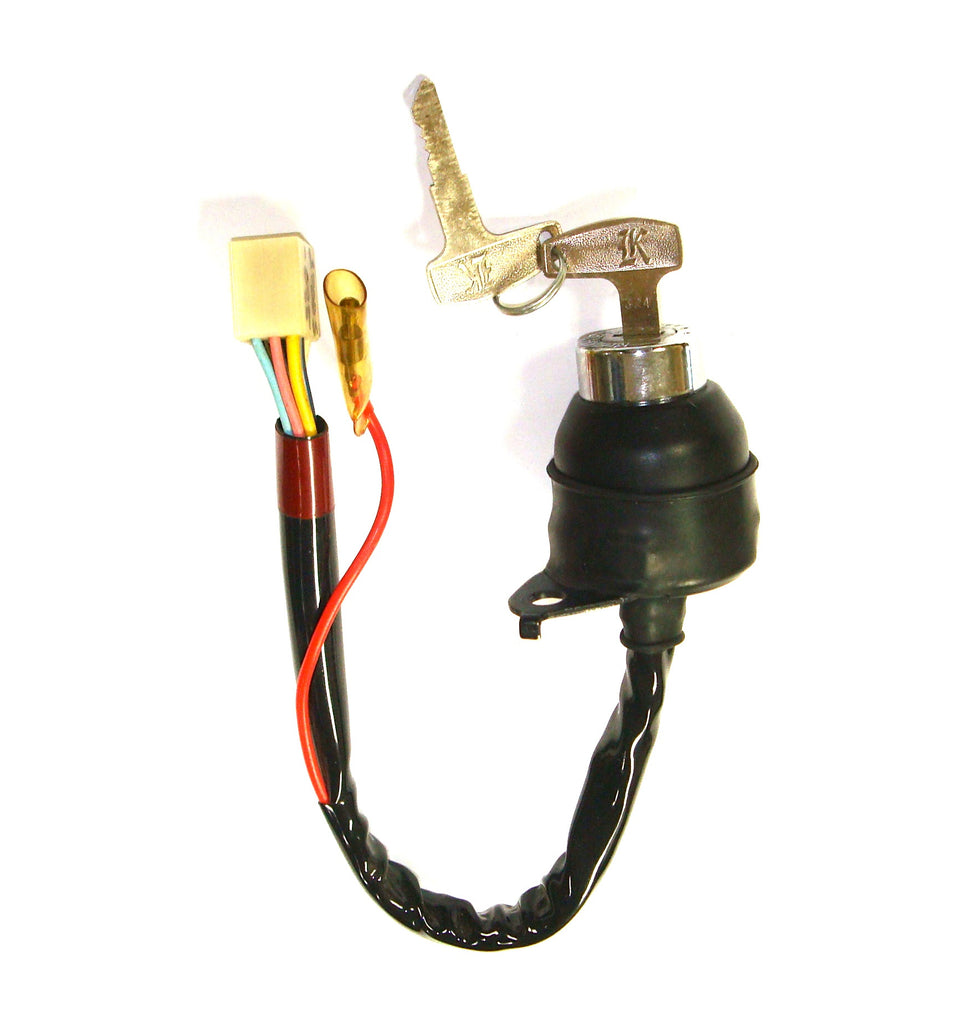 Kawasaki 27005-085 KH100 Ignition Switch W/Keys (1976-1977)