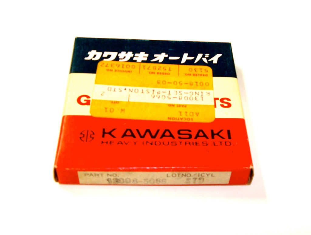 Kawasaki 13008-5066 JS650 Std. Piston Ring Set JS650-A2 (1988)