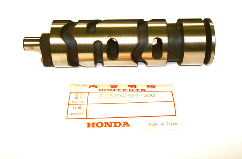 Honda 24300-369-000 CB360 CL360 Drum, Gearshift OEM