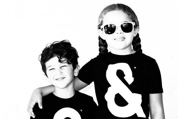 Ampersand Tee // Kids
