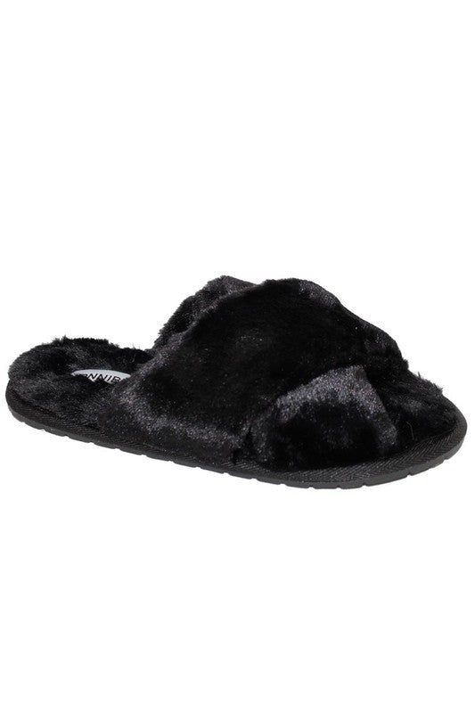 Fluffy Slippers - VerClare Boutique