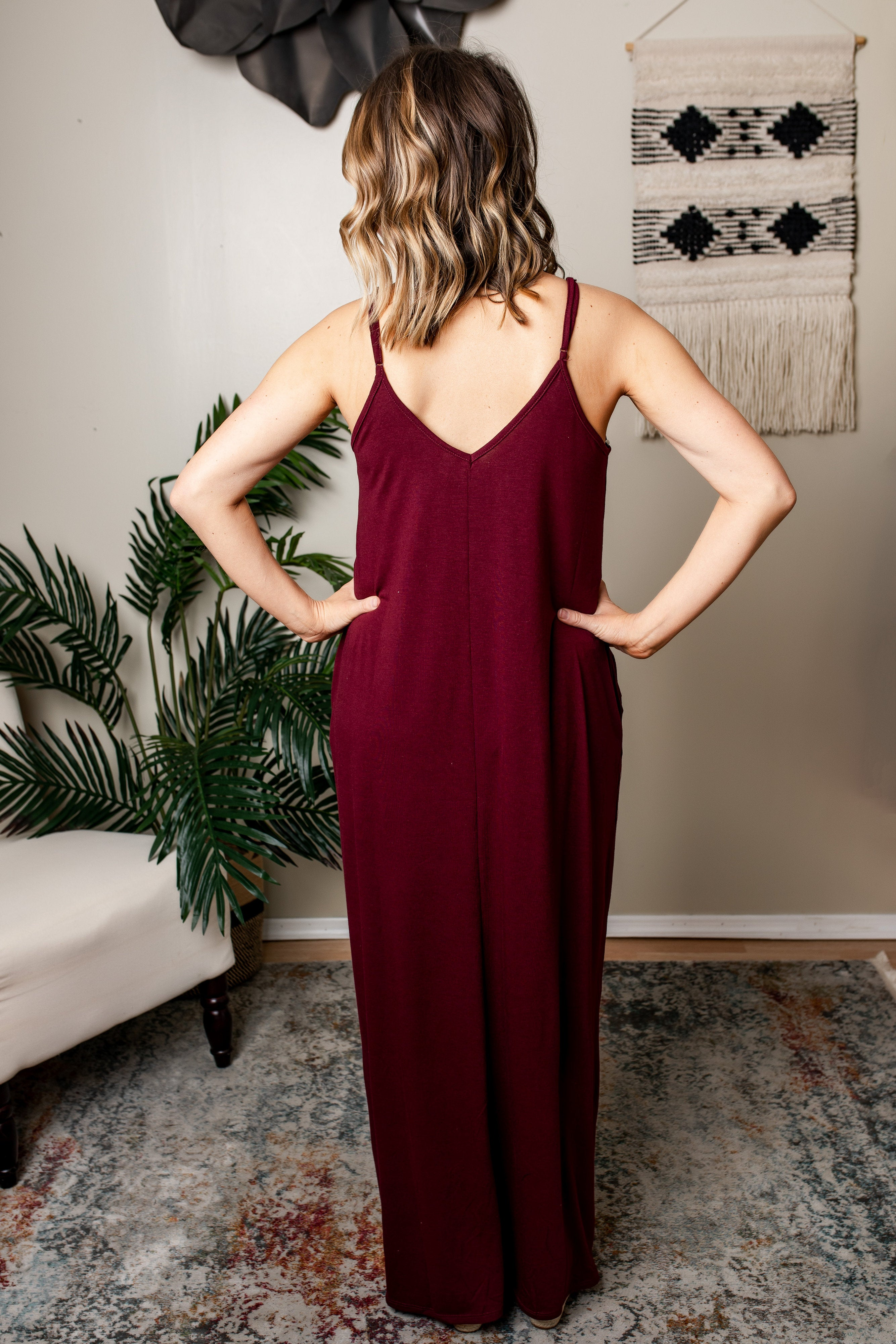Zenia Cami Maxi Dress | VerClare Boutique