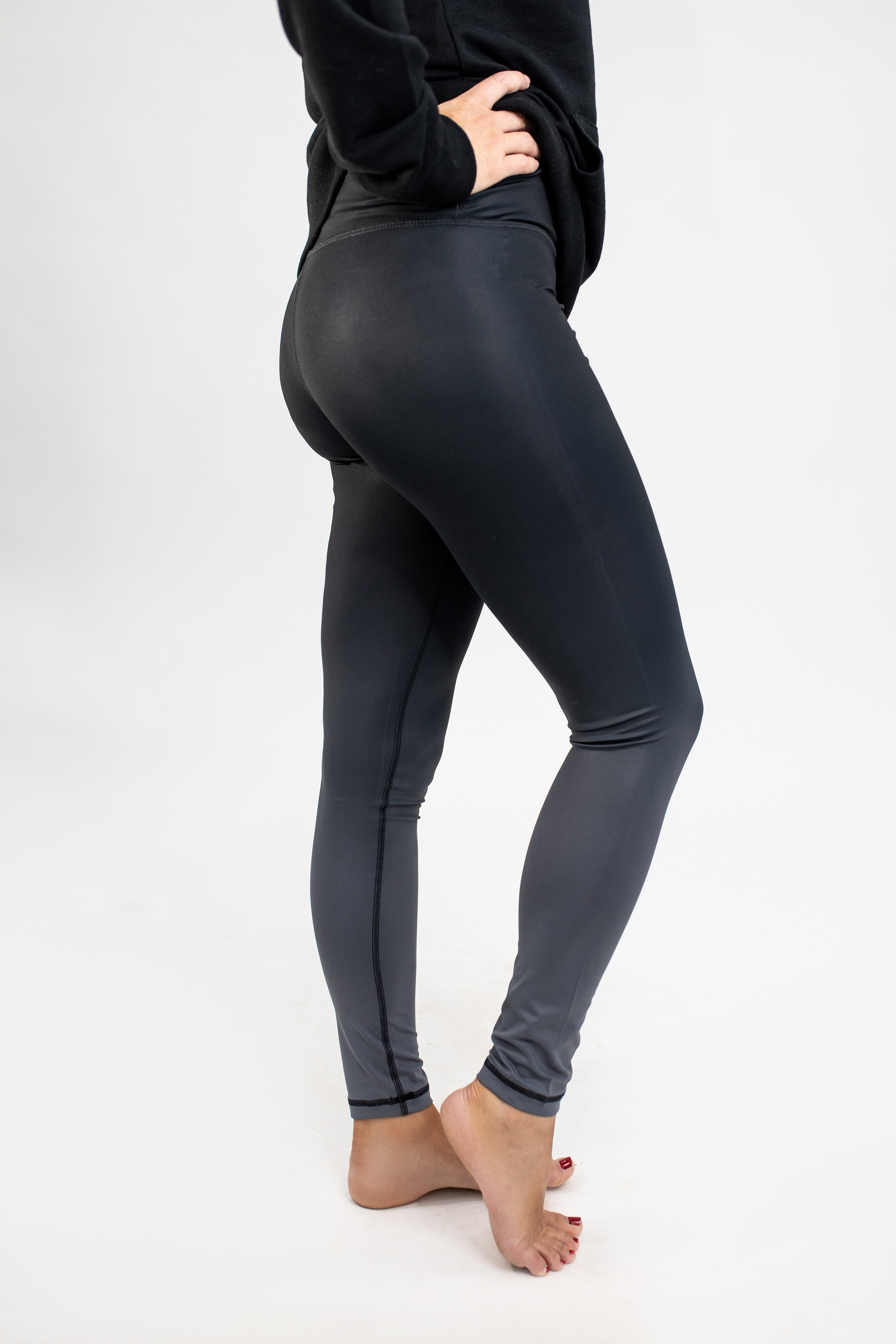 Charcoal Ombre Essential Leggings