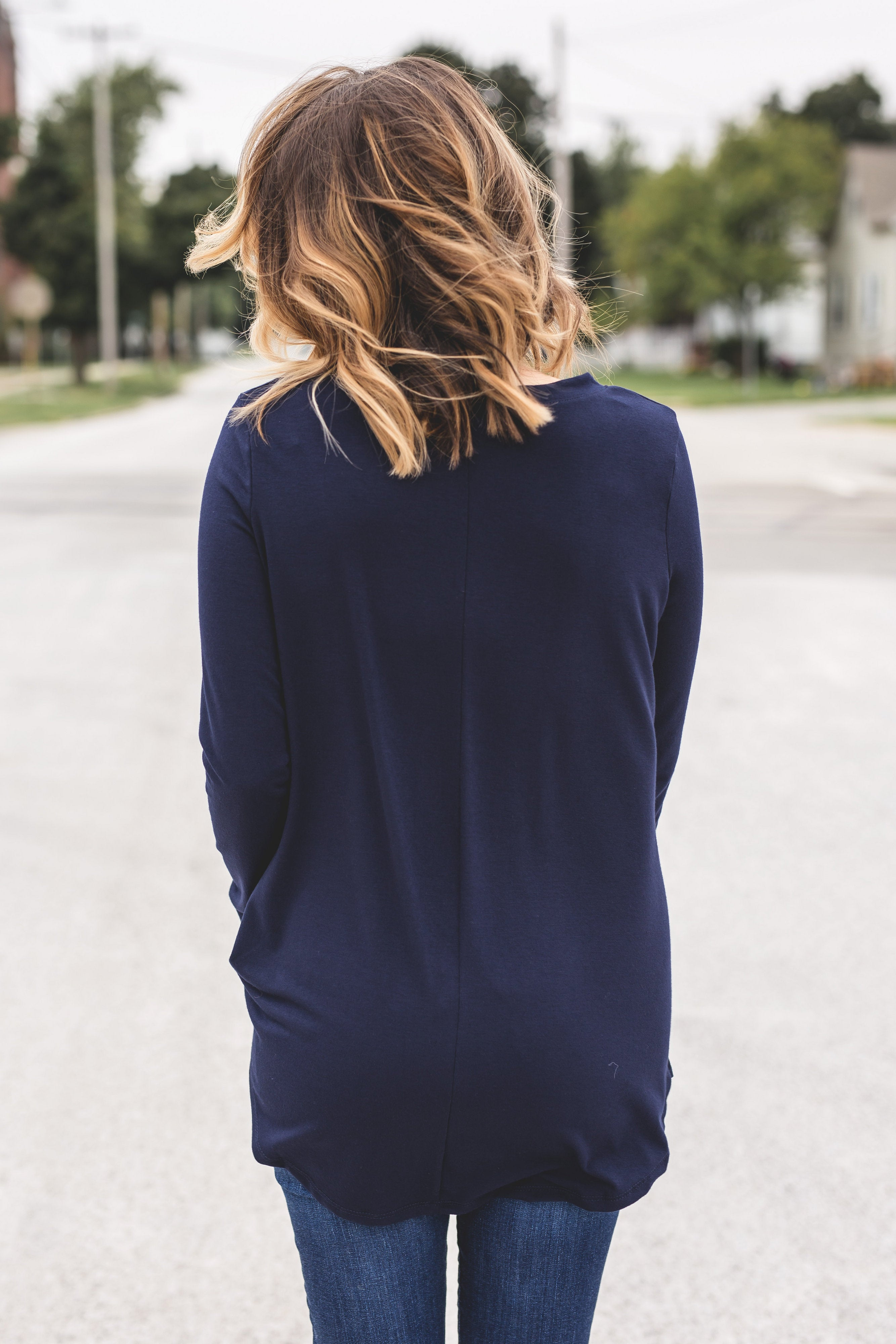 Evelyn Everyday Long Sleeve Tee | VerClare Boutique