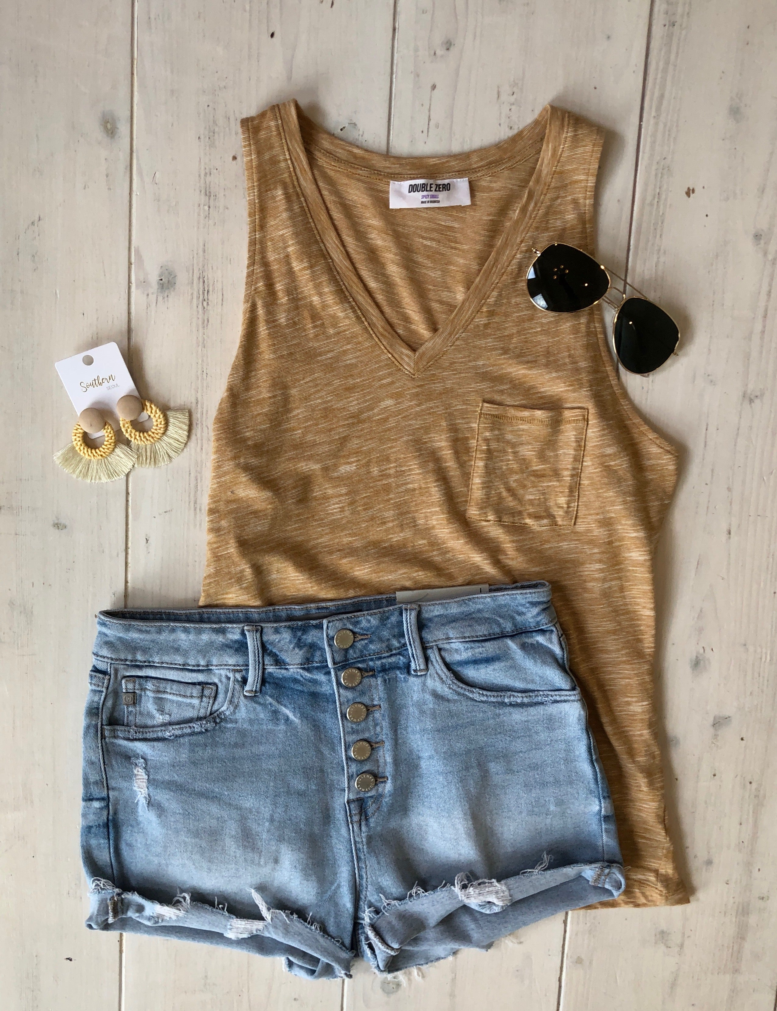 Karina Pocket Tank | VerClare Boutique