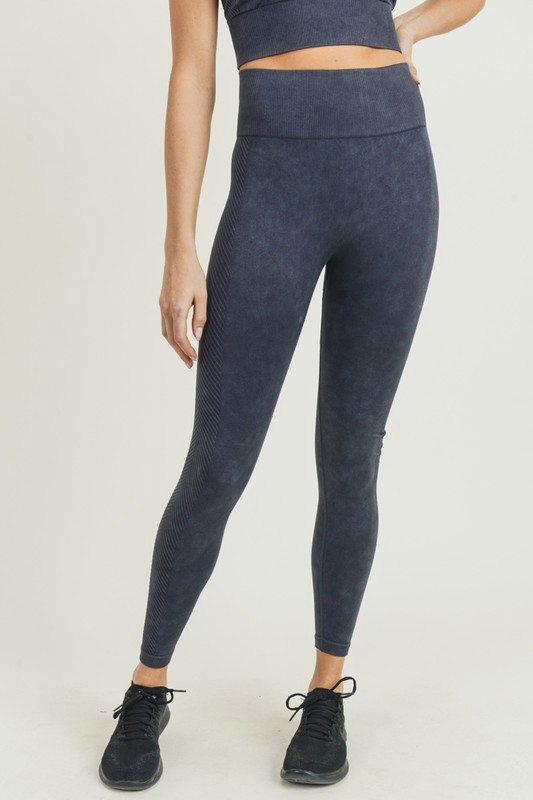 Chevron Mineral Highwaist Leggings