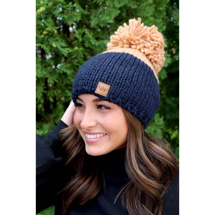 Winter Pom Hats - VerClare Boutique