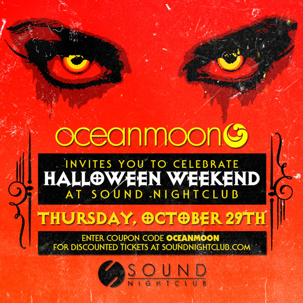 Celebrate Halloween Weekend With Oceanmoon