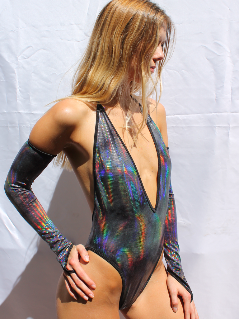 V Neck Bodysuit - Immersion
