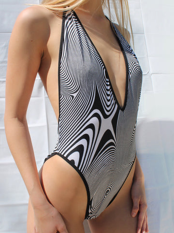 V Neck Bodysuit - Hypnotic