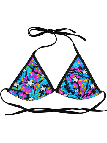 Hot Space Triangle Bra