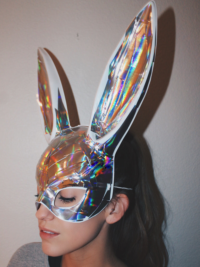 Strobe Bunny Mask - shopoceanmoon