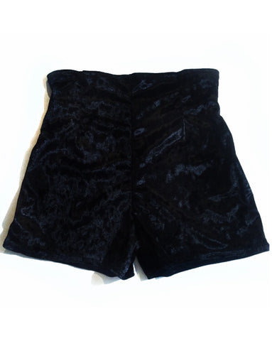 Cameron Velvet High Waisted Short