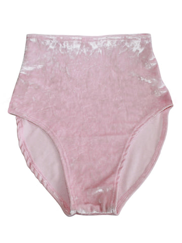 Kylie Velvet High Waisted Bottom