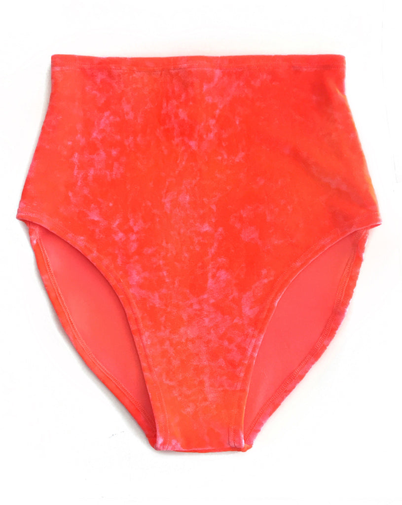 Kora Velvet High Waisted Bottom - shopoceanmoon