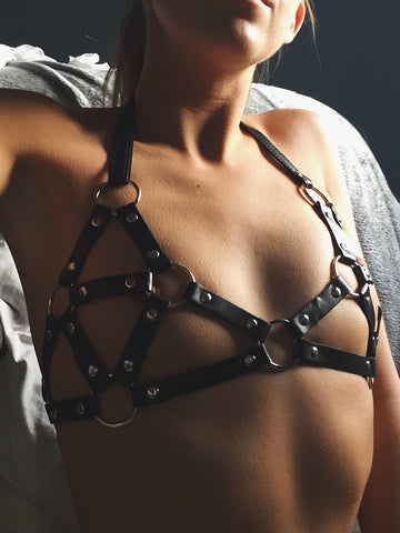 Choke Me Harness