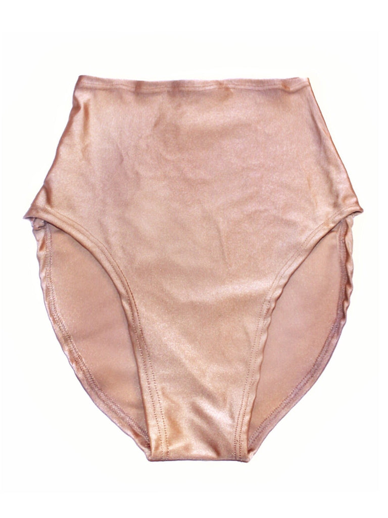 Barely There Nude High Waisted Bottom