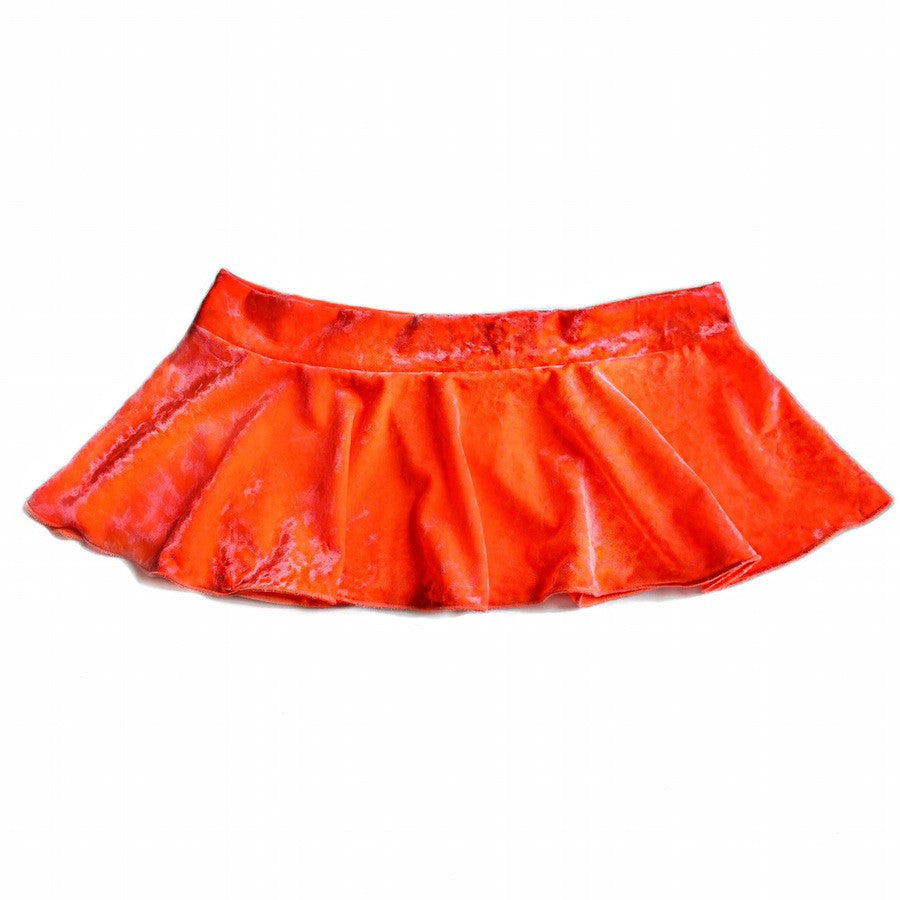 Kora Velvet Mini Skirt - shopoceanmoon