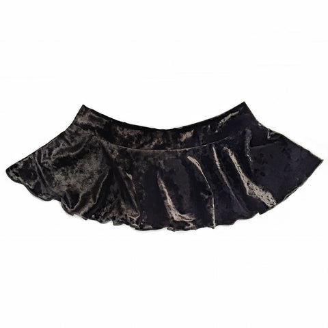 Cameron Velvet Mini Skirt