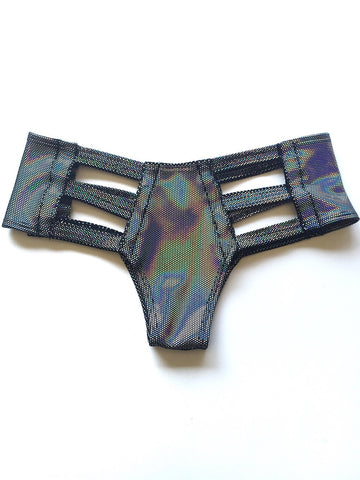 Galactic Velvet Cutout Bottom