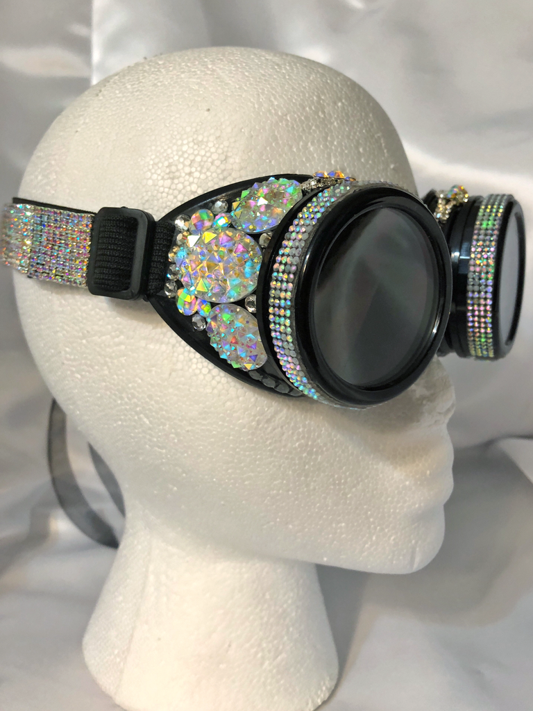 Opalescence Steampunk Goggles