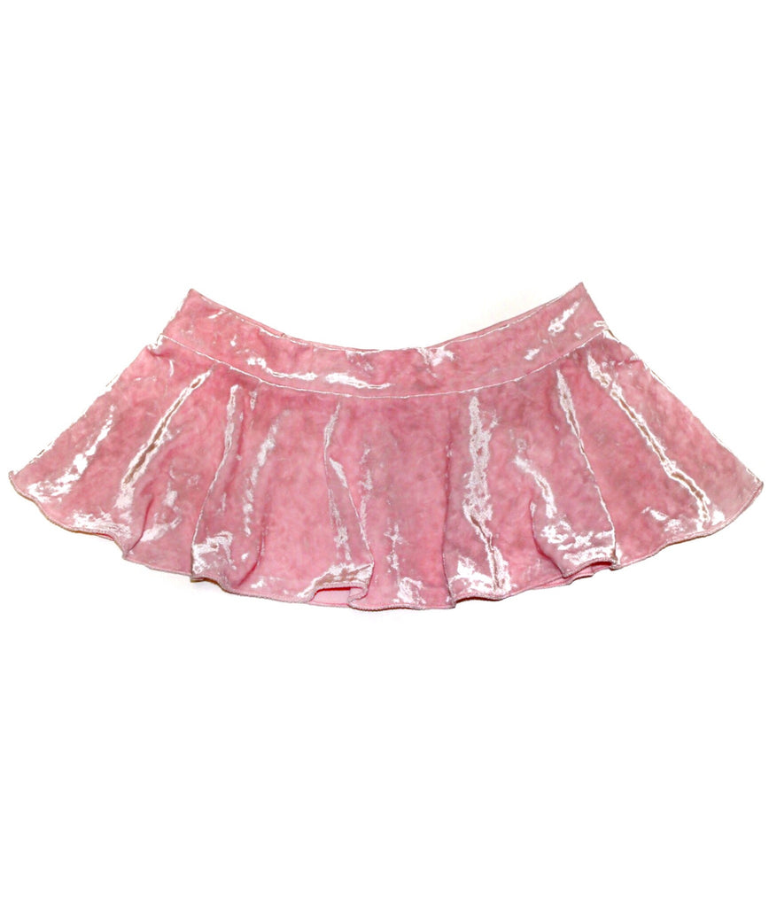 Kylie Velvet Mini Skirt - shopoceanmoon