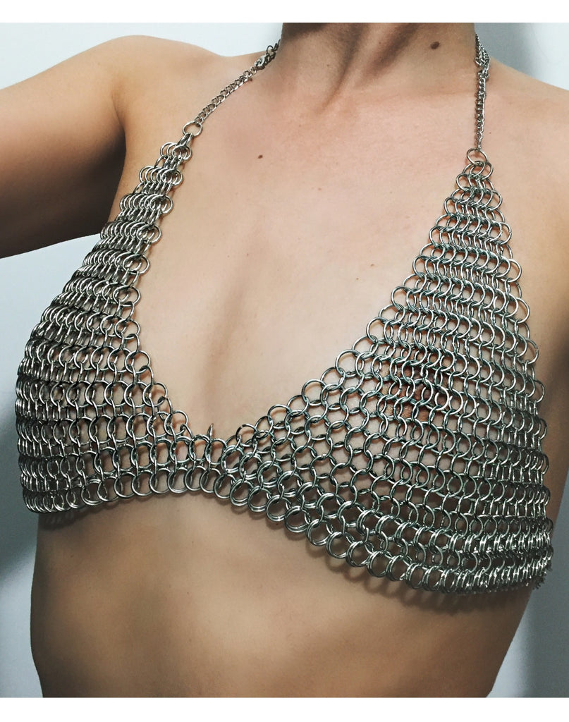 The Muse Chainmail Bra - shopoceanmoon