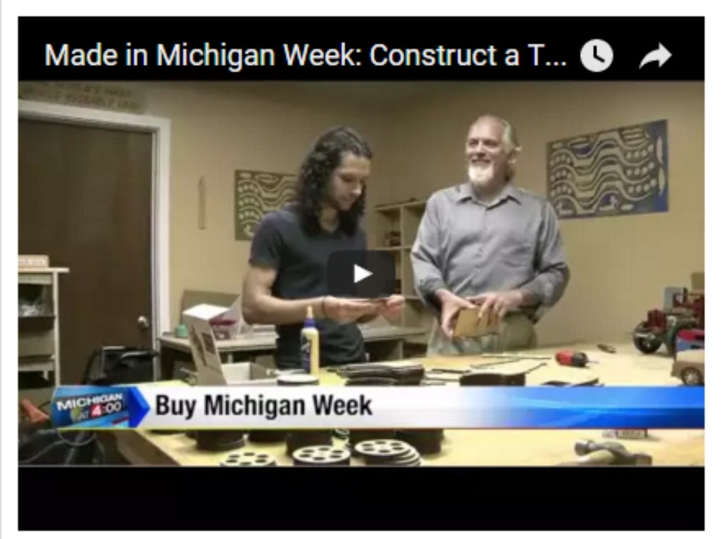 Channel 4 News Story - Construct a Truck USA