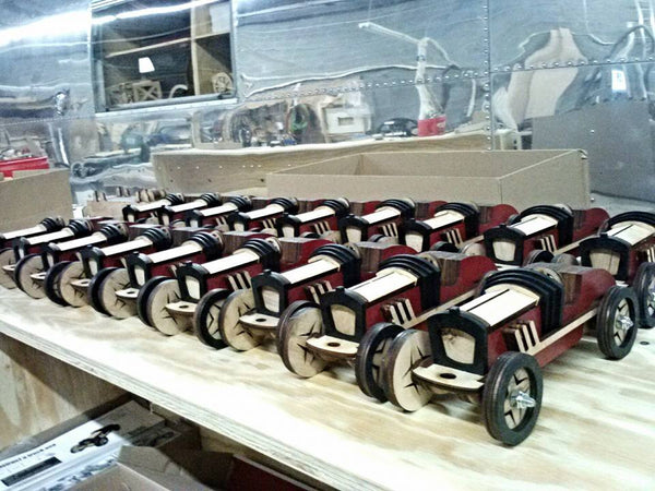 Builder Pack - 10 Moto Buzzi Speedsters