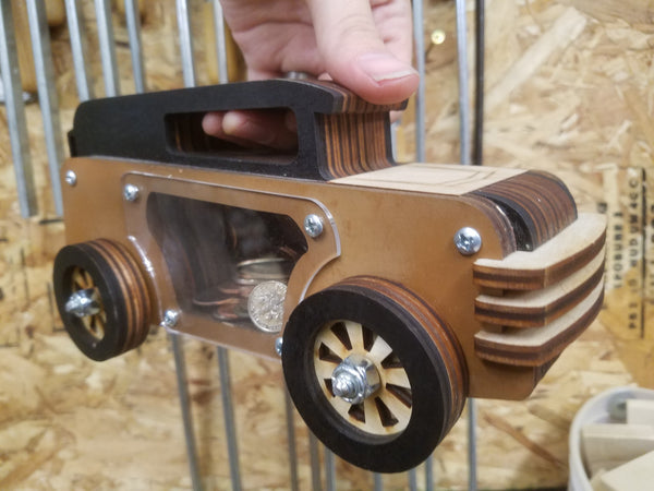 50's Sedan Coin Bank Kit