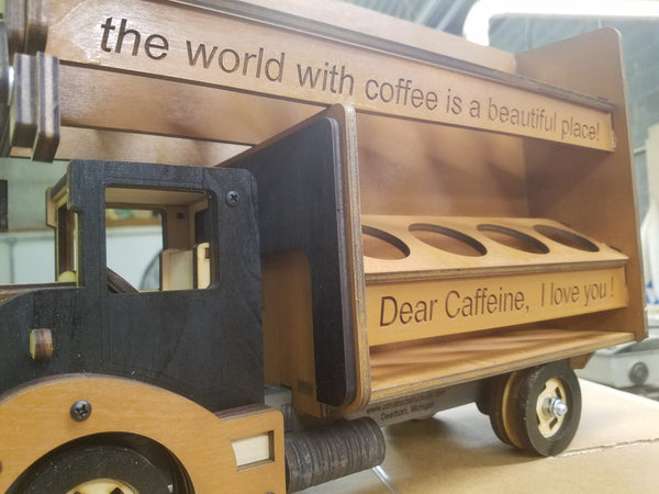 Coffee Pod Moving and Storage Truck Kit
